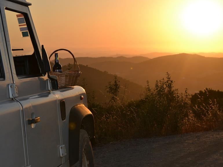Albufeira Jeep Sunset - Shared