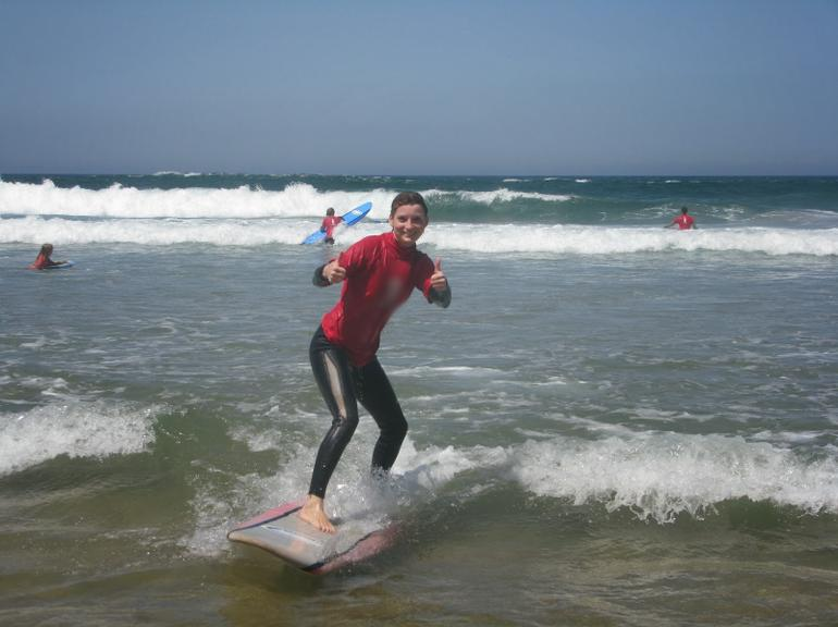 Pack of 3 Surf days (6 lessons) in West Coast