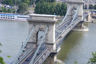 Budapest City English Tour and Day Time Cruise