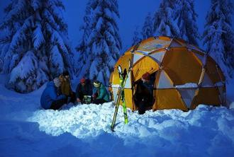 Experience a night in an Expedition Camp