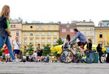 Bike tour in Krakow: a walk on two wheels